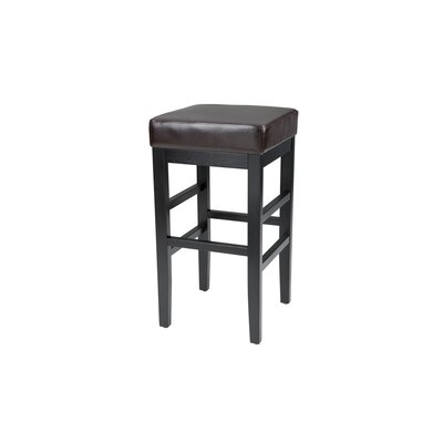 "Sunpan Modern Jacob 30"" Bar Stool with Cushion"