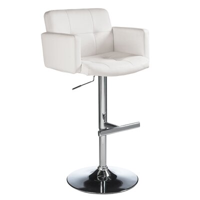 "Sunpan Modern Churchill 24"" Adjustable Bar Stool"