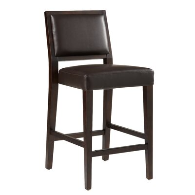 Sunpan Modern Citizen Bonded Leather Stool