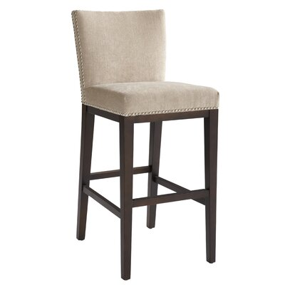 "Sunpan Modern Vintage 26"" Bar Stool with Cusion"