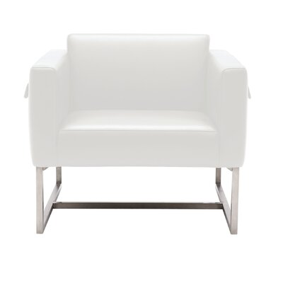 Sunpan Modern Zurich Leather Armchair