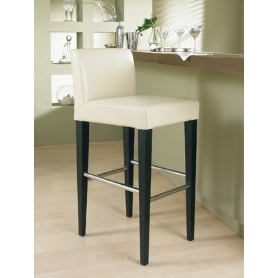 Sunpan Modern Oriana Bonded Leather Stool