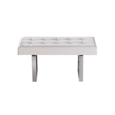 Sunpan Modern Urbano Faux Leather Bench