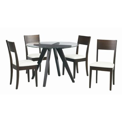 Sunpan Modern Apollo 5 Piece Dining Set