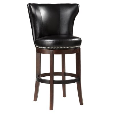 "Sunpan Modern Tavern 30"" Swivel Bar Stool with Cushion"