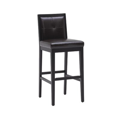 Sunpan Modern Paxton Bonded Leather Stool