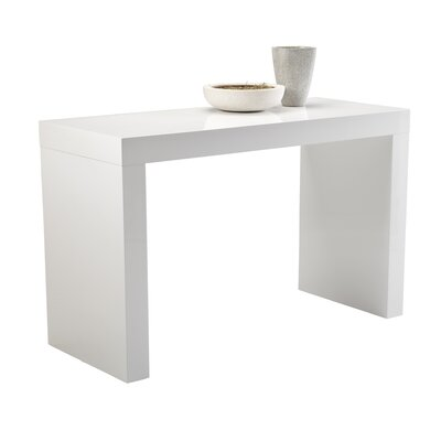 Sunpan Modern Faro C-Shape Counter Height Dining Table