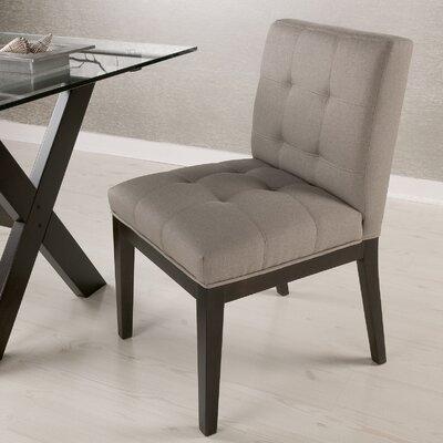 Espresso wood dining chair wayfair for Low back parsons dining chair