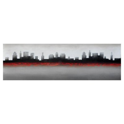Sunpan Modern City Wall Art