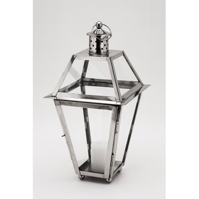 Fashion N You by Horizon Interseas New Port Steel Lantern