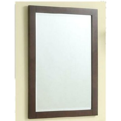 Empire Industries Monaco 23&quot; Vanity Mirror in Dark Cherry