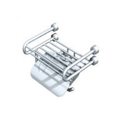 Empire Industries Tivoli Soap Rack with Paper Holder and Lid