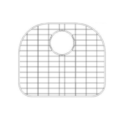 "Empire Industries 16"" x 16"" Sink Grid for 16 Gauge Undermount Large Left Bowl Kitchen Sink"