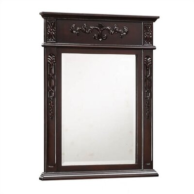 "Empire Industries Verona 22"" Carved Mirror"