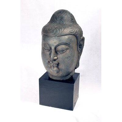 Vita V Home Male Buddha Head Statue
