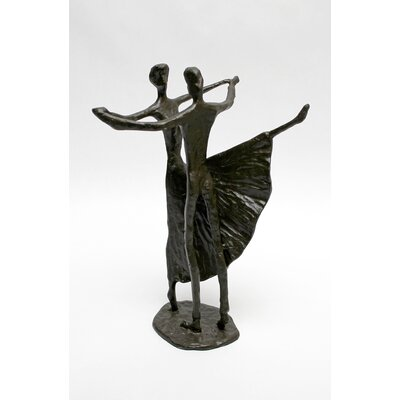 Vita V Home Couple Dancing Statue