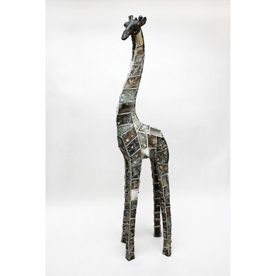 Vita V Home Mosaic Animal Giraffe Statue