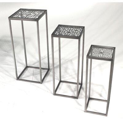 Vita V Home Metal 3 Piece Nesting Tables