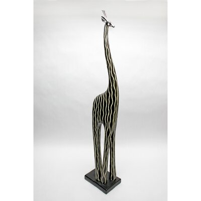 Vita V Home Contemporary Giraffe Resin Statue