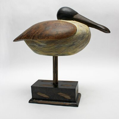 Vita V Home Shore Bird Tihu Bird Statue with Base