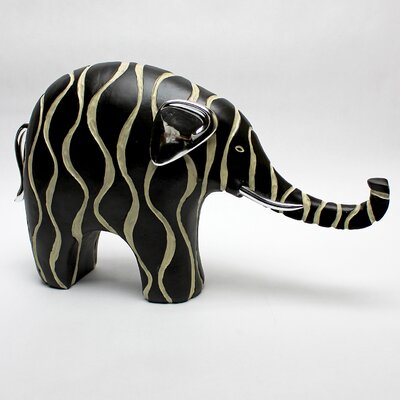 Vita V Home Contemporary Elephant Resin Statue
