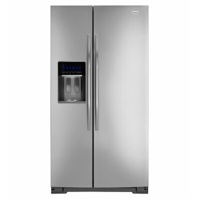 Whirlpool 30 cu. ft. Tap Touch Controls Side-By-Side Refrigerator