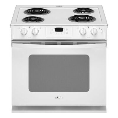 "Whirlpool 30"" Drop-In Electric Range"