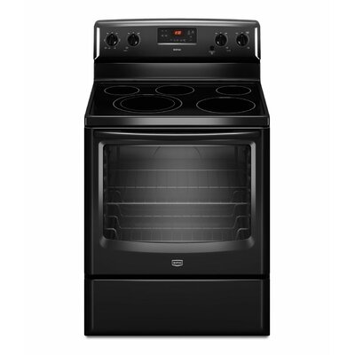 6.2 cu. ft. Dual-Choice and Speed Heat Elements Electric Range