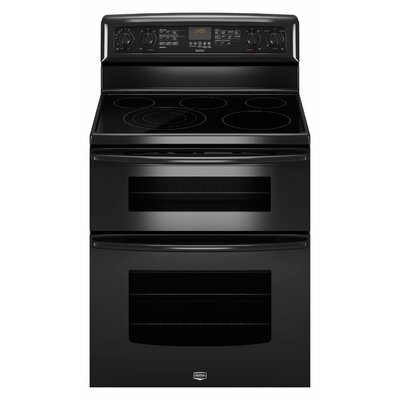 Maytag Gemini EvenAir True Convection Electric Double Oven Range