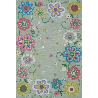 Abacasa Abacasa Kids Secret Garden Lt. Green/Pink/Blue Area Rug