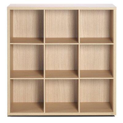 didit Click Furniture 3 Row and 3 Column Open Cabinet