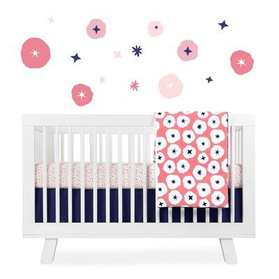 babyletto In Bloom Crib Bedding Set