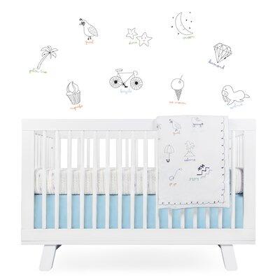 babyletto Alphabets Crib Bedding Set