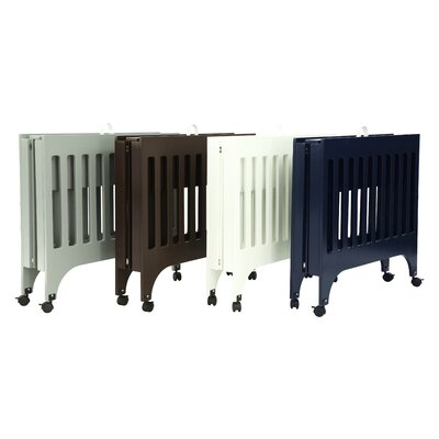 babyletto Grayson Mini Crib and Mattress Set