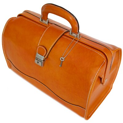 Floto Imports Ciabatta Leather Doctor Bag