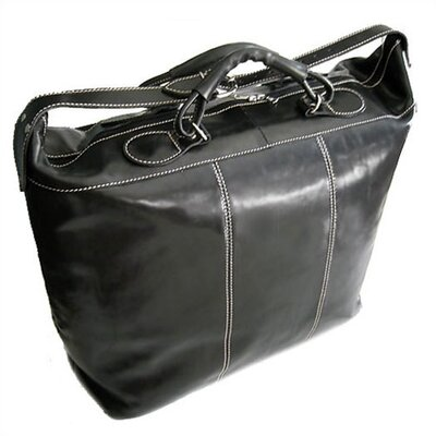"Floto Imports Piana 18"" Leather Travel Duffel"