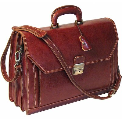Venezia Attaché Case Leather Briefcase