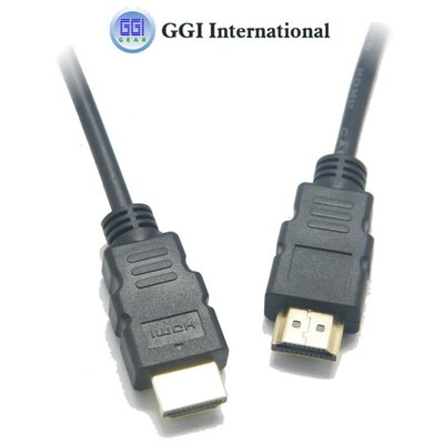 "GGI International 1.4"" HDMI Cable Male with Ethernet"