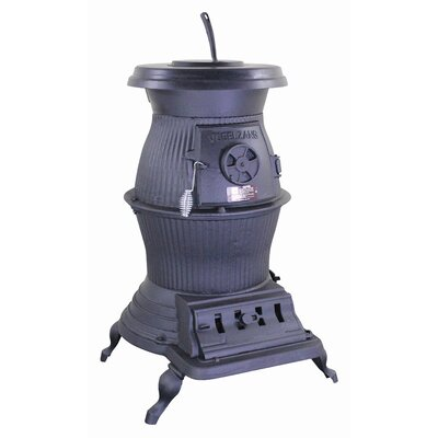 Vogelzang Railroad Potbelly 1,500 Square Foot Wood/Coal Stove