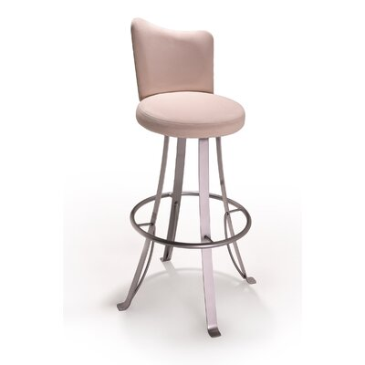 "Createch Buzz 24"" Swivel Bar Stool with Cushion"