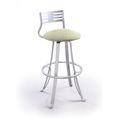 "Createch Baci 24"" Swivel Bar Stool with Cushion"
