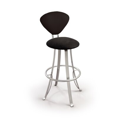 "Createch Jazz 24"" Swivel Bar Stool with Cushion"