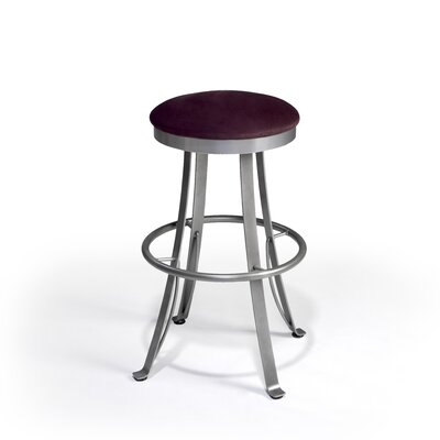 "Createch Cobra 30"" Swivel Bar Stool with Cushion"