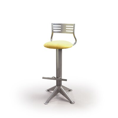 "Createch Max 24"" Swivel Bar Stool with Cushion"