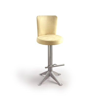 "Createch Zedia 30"" Swivel Bar Stool with Cushion"