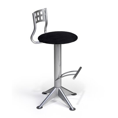 "Createch Neon 30"" Swivel Bar Stool with Cushion"