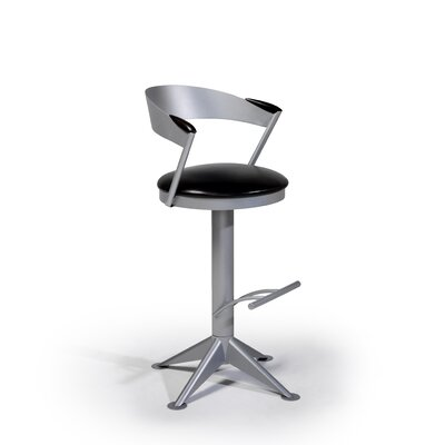 "Createch Midget 30"" Swivel Bar Stool with Cushion"