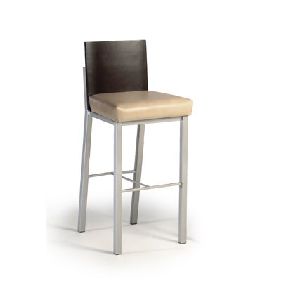 "Createch Baroni 24"" Bar Stool with Cushion"