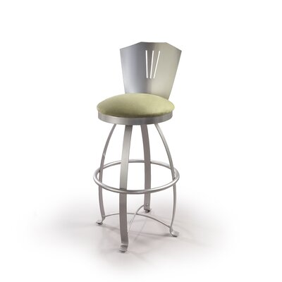 "Createch Obelix 24"" Swivel Bar Stool with Cushion"