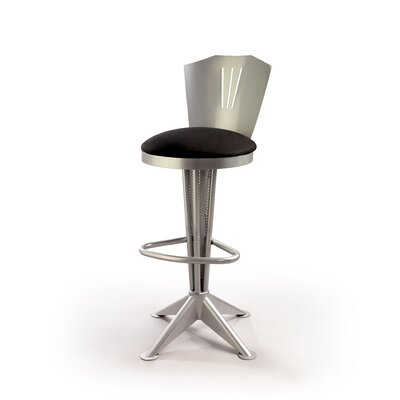 "Createch Tao 30"" Swivel Bar Stool with Cushion"